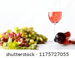 grape  cheese  figs and honey... | Shutterstock . vector #1175727055