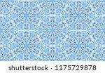 seamless winter texture. frosty ...   Shutterstock .eps vector #1175729878