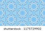 seamless winter texture. frosty ...   Shutterstock .eps vector #1175729902