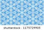 seamless winter texture. frosty ...   Shutterstock .eps vector #1175729905