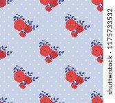 seamless vector ornamental... | Shutterstock .eps vector #1175733532
