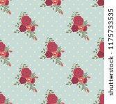 seamless vector ornamental... | Shutterstock .eps vector #1175733535