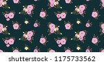 seamless vector ornamental... | Shutterstock .eps vector #1175733562