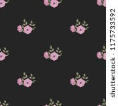seamless vector ornamental... | Shutterstock .eps vector #1175733592