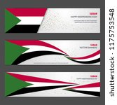 sudan independence day abstract ... | Shutterstock .eps vector #1175753548