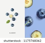 creative layout made of... | Shutterstock . vector #1175768362