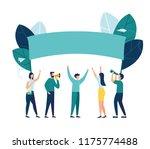 vector illustration  holding...   Shutterstock .eps vector #1175774488