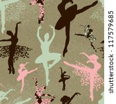Pattern With Ballerinas And...