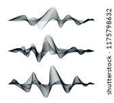 sound waves track design. set... | Shutterstock .eps vector #1175798632
