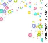 social media marketing ... | Shutterstock .eps vector #1175803222