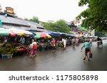 yangon myanmar   august 20 2018 ... | Shutterstock . vector #1175805898