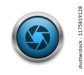 aperture   app icon | Shutterstock .eps vector #1175819128