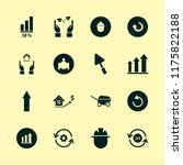 development vector icons set.... | Shutterstock .eps vector #1175822188