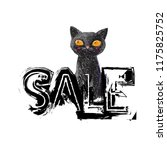 ddiscount price tag in black... | Shutterstock .eps vector #1175825752