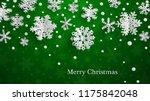 christmas illustration with... | Shutterstock .eps vector #1175842048