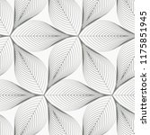 linear vector pattern ... | Shutterstock .eps vector #1175851945
