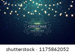 merry christmas and new year... | Shutterstock .eps vector #1175862052