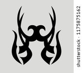 vector ornament  for tattoo... | Shutterstock .eps vector #1175875162