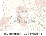 autumn collection trendy chic... | Shutterstock .eps vector #1175900545