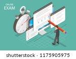 isometric flat concept of... | Shutterstock . vector #1175905975