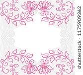 floral background. vector... | Shutterstock .eps vector #1175909362