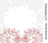 floral background. vector... | Shutterstock .eps vector #1175909602