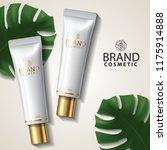 gold package skin care cream... | Shutterstock .eps vector #1175914888