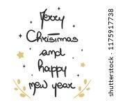 cute lovely hand drawn...   Shutterstock .eps vector #1175917738