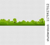 green nature landscape isolated ...   Shutterstock . vector #1175927512