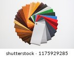 samples of the colored... | Shutterstock . vector #1175929285