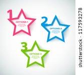 vector progress background  ... | Shutterstock .eps vector #117593278