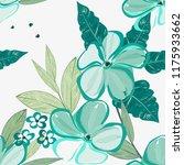 abstract flower seamless... | Shutterstock .eps vector #1175933662