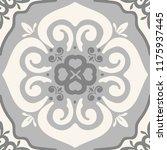 damask seamless tiles vector... | Shutterstock .eps vector #1175937445