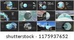 minimal presentations design ... | Shutterstock .eps vector #1175937652