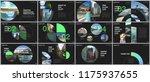 minimal presentations design ... | Shutterstock .eps vector #1175937655