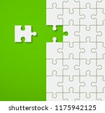 background a lot of piece... | Shutterstock .eps vector #1175942125