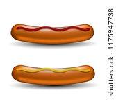 vector realistic boiled... | Shutterstock .eps vector #1175947738
