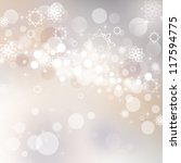 abstract christmas background... | Shutterstock . vector #117594775