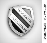 absolute protection guard... | Shutterstock .eps vector #1175952685