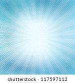 blue old paper texture | Shutterstock .eps vector #117597112