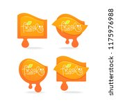 vector collection of bright and ... | Shutterstock .eps vector #1175976988