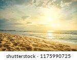 Beautiful Sea Cost View. India...