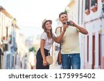 young happy couple taking... | Shutterstock . vector #1175995402