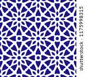 porcelain pattern  seamless... | Shutterstock .eps vector #1175998315