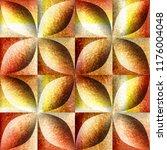 abstract decorative tiles... | Shutterstock . vector #1176004048