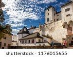 courtyard of the hohensalzburg... | Shutterstock . vector #1176015655