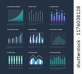 infographic elements. data... | Shutterstock .eps vector #1176038128