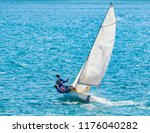 sailing the ocean | Shutterstock . vector #1176040282