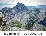 scenery panorama beautiful... | Shutterstock . vector #1176042775