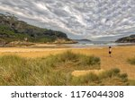 solitary xiloi beach on the... | Shutterstock . vector #1176044308